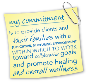 My Commitment is in helping children, teens & families gain confidence, feel better, & express their feelings creatively.